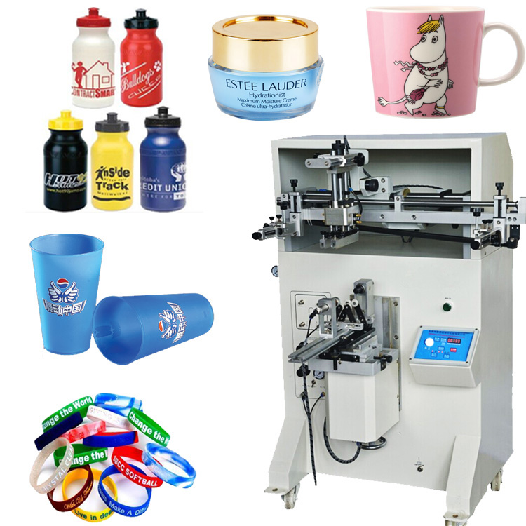 Bottle cup cylindrical silk screen printer LY-4A